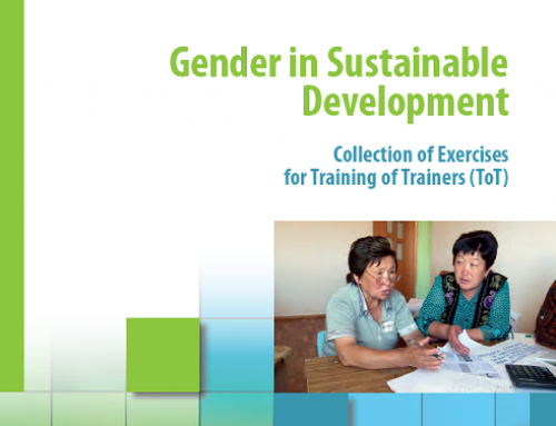 Gender in Sustainable Development – Collection of Exercises for Training of Trainers