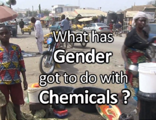 """""""What has gender got to do with chemicals"""" documentary gets broadcasted on Nigerian International TV"""