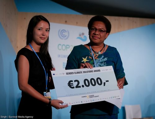 Applications open for Gender Just Climate Solutions Award 2018!