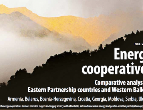 Comparative study on energy cooperatives in Eastern Europe and the Western Balkans