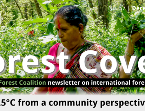 Forest Cover 57 – 1.5°C from a community perspective