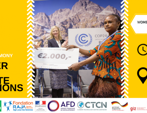Join us for the 5th annual Gender Just Climate Solutions Award at COP25
