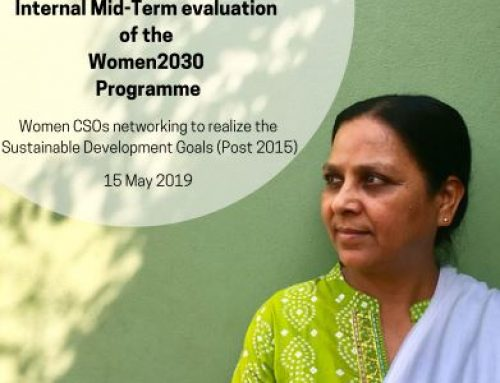 Report on the internal mid-term evaluation of the Women2030 programme