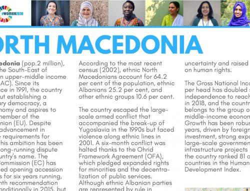 Shadow Report North Macedonia